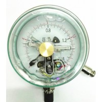 oil filled electric contact pressure gauge