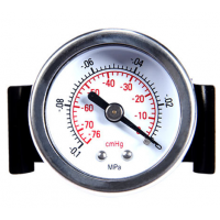 Panel mount vacuum gauge